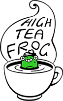 High Tea Frog Logo